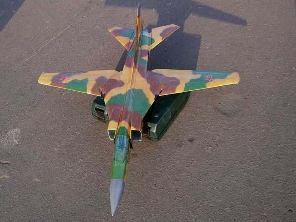 Parkflyer 8. Два в одном (МиГ-23), 3 часть