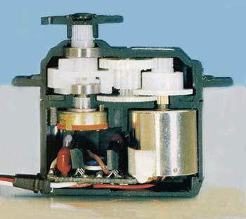 Исполнительные механизмы RC-аппаратуры