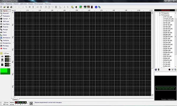 Программы для рисования электронных схем и печатных плат