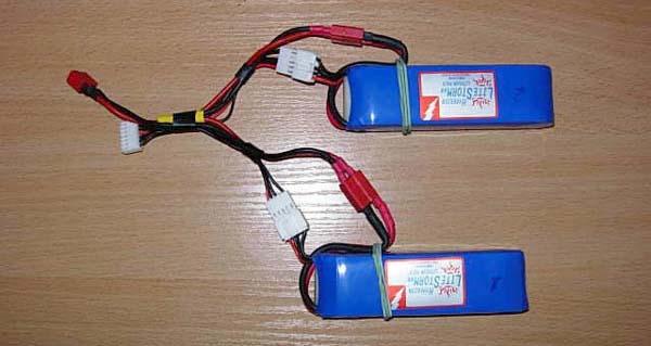Ускоренная зарядка литий-полимерных (LiPo) батарей в полевых усл