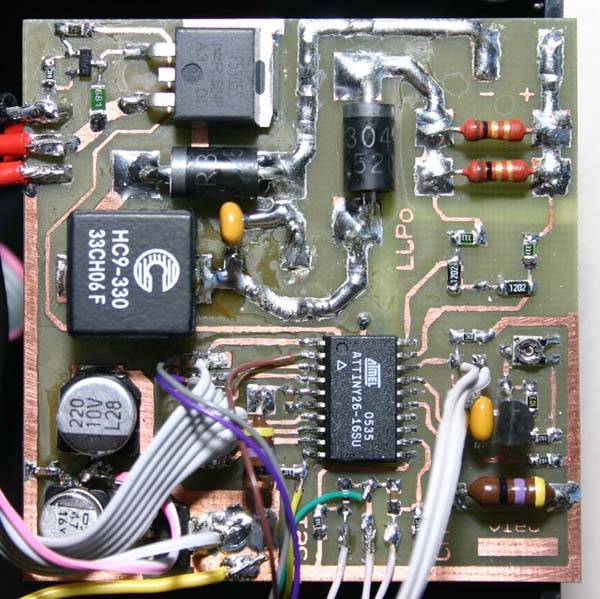 Зарядное устройство для литий-полимерных (LiPo) аккумуляторов